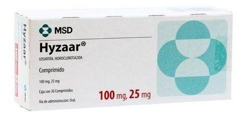 Hyzaar Losartan/Hidrochlorothiazide 100/12.5 mg 30 tabs