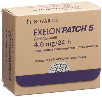 EXELON 4,6 mg/24 Stunden transdermale Pflaster