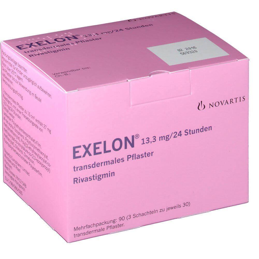 EXELON 13.3MG/24 STUNDEN 90 St