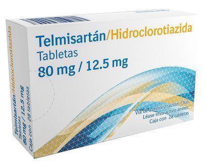 Telmisartan - Hydrochlorothiazide80mg