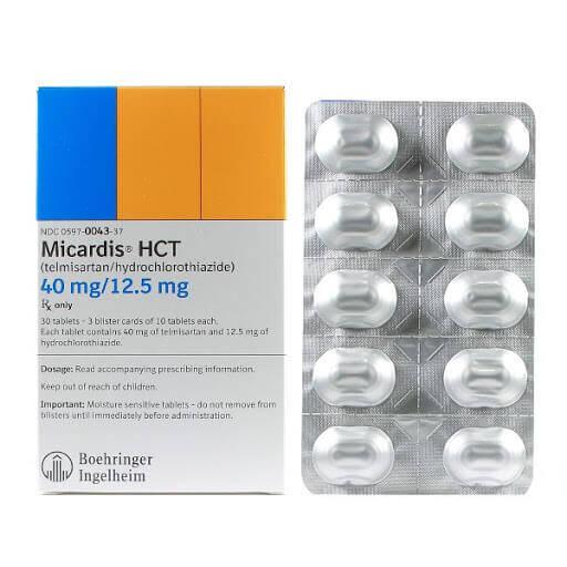 MICARDIS HCT 40MG/12.5MG